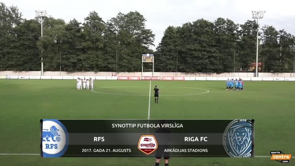 VIDEO: RFS - Riga FC 1:1 spēles momenti (21.aug.)