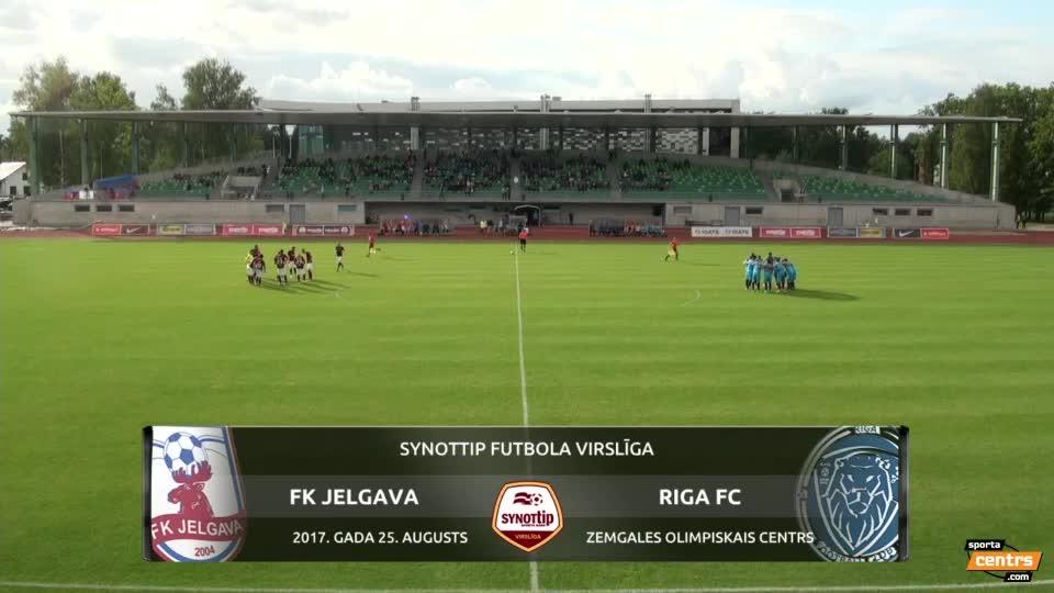 VIDEO: FK Jelgava - Riga FC 1:2 spēles momenti (25.aug.)