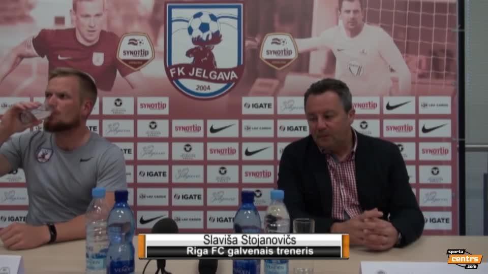 VIDEO: FK Jelgava - Riga FC 1:2 preses konference (25.aug.)