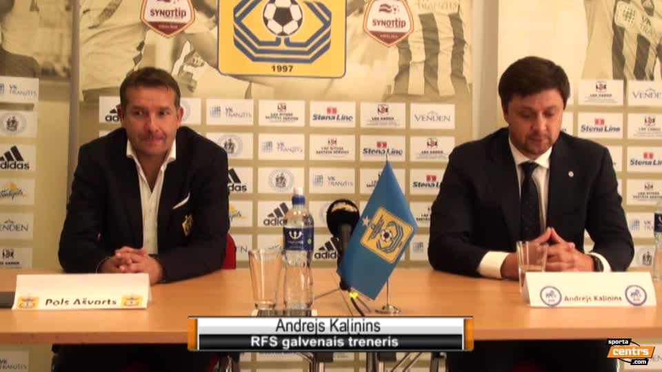 VIDEO: FK Ventspils - RFS 1:2 preses konference (26.aug.)