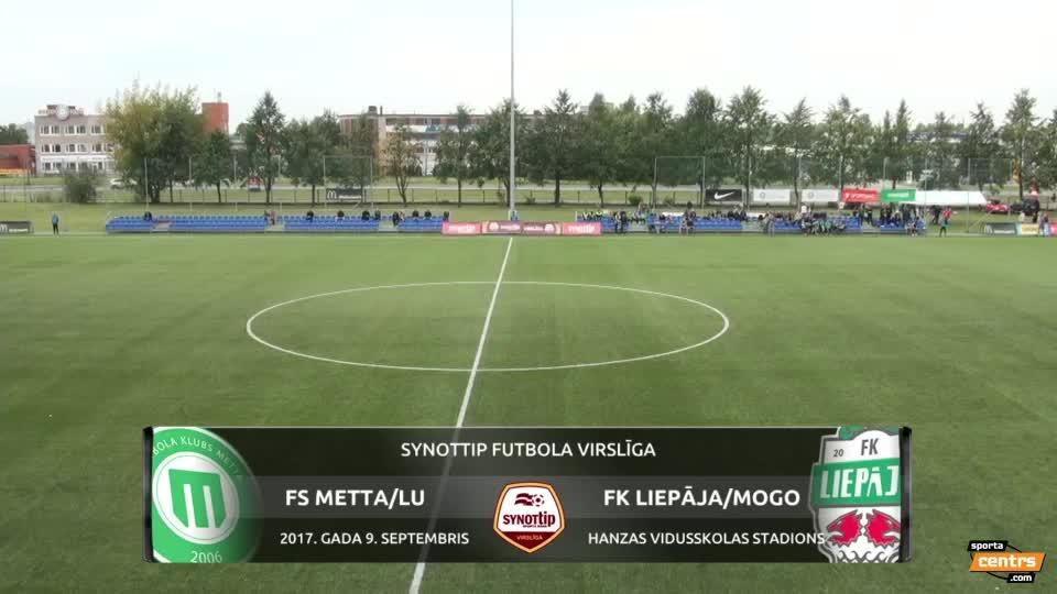 VIDEO: FK Metta/Latvijas Universitāte  - FK Liepāja/Mogo 2:5 spēles momenti (9.sep.)