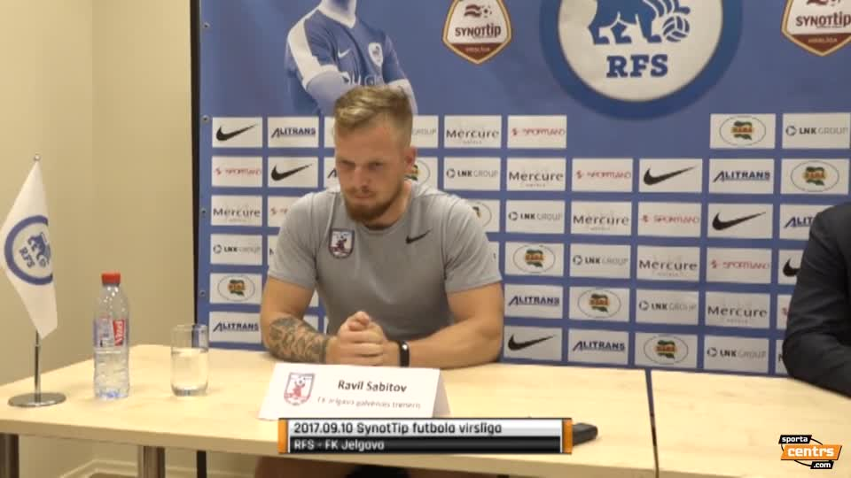 VIDEO: RFS - FK Jelgava 3:0 preses konference (10.sep.)