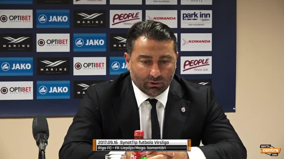 VIDEO: Riga FC - FK Liepāja/Mogo 2:1 preses konference (16.sep.)