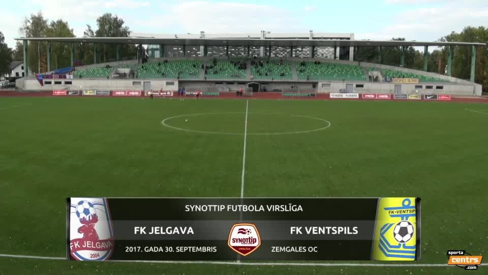 VIDEO: FK Jelgava - FK Ventspils 0:1 spēles momenti (30.sep.)