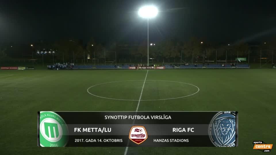 VIDEO: FK Metta/Latvijas Universitāte  - Riga FC 0:2 spēles momenti (14.okt.)