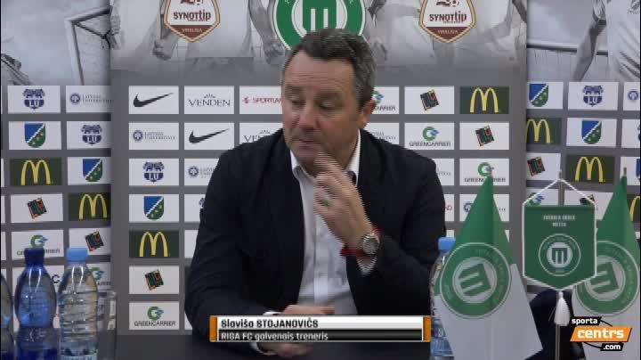 VIDEO: FK Metta/Latvijas Universitāte  - Riga FC 0:2 preses konference (14.okt.)