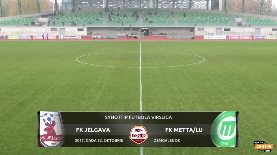 VIDEO: FK Jelgava - FK Metta/LU 1:1 spēles momenti (22.okt.)