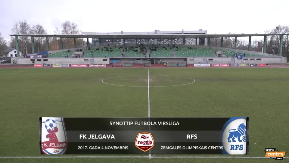 VIDEO: FK Jelgava - RFS 1:0 spēles momenti (4.nov.)