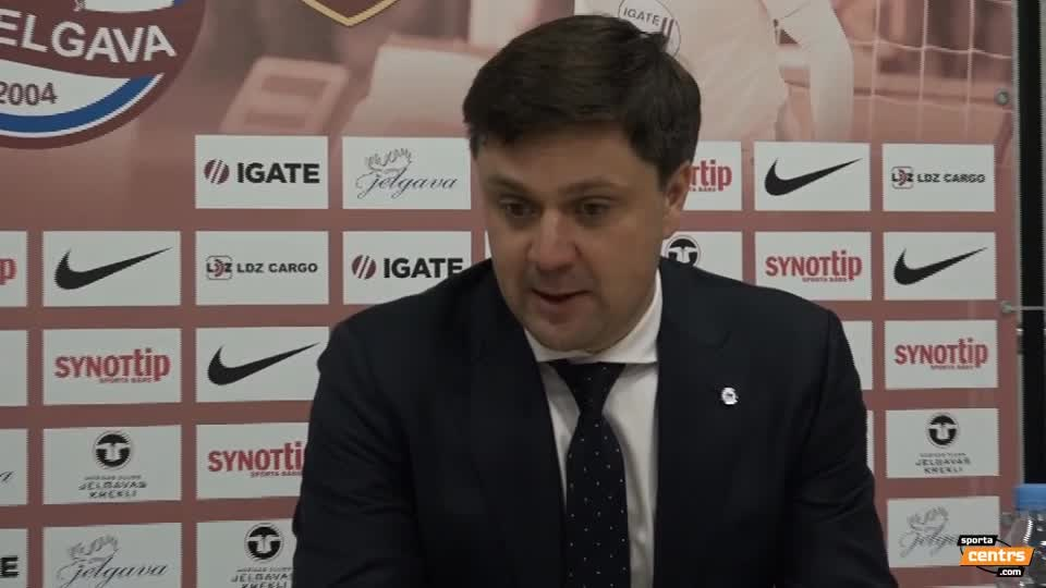 VIDEO: FK Jelgava - RFS 1:0 preses konference (4.nov.)